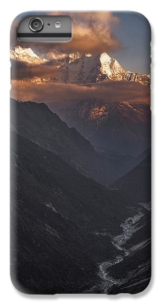 Mountain Sunset iPhone 6 Plus Case - High Above by Karsten Wrobel