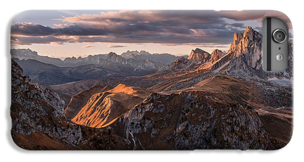 Mountain Sunset iPhone 6 Plus Case - Highways And Byways by Jan ?m?d, Qep