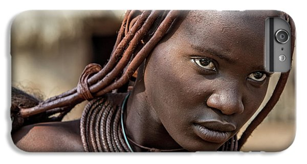 Africa iPhone 6 Plus Case - Himba Girl by Piet Flour