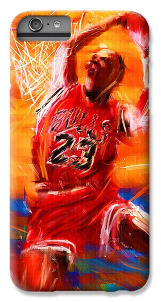 His Airness IPhone 6 Plus Case by Lourry Legarde