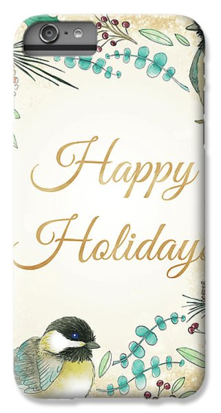 Holiday Wishes II IPhone 6 Plus Case