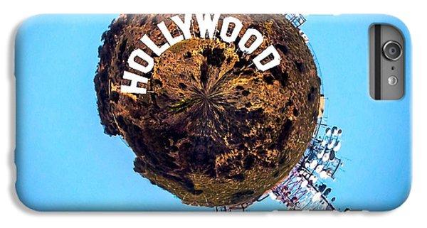 Hollywood Sign Circagraph IPhone 6 Plus Case by Az Jackson