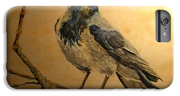 Hooded Crow IPhone 6 Plus Case by Juan  Bosco