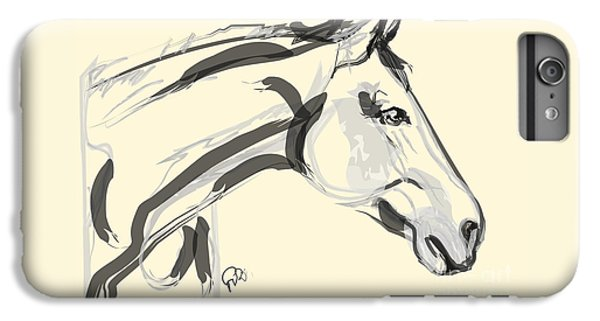 Horse - Lovely IPhone 6 Plus Case