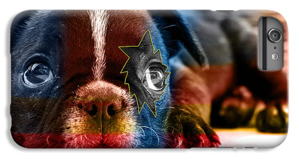 House Broken French Bulldog IPhone 6 Plus Case by Marvin Blaine