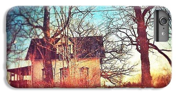 House iPhone 6 Plus Case - #house #home #old #farm #abandoned by Jill Battaglia