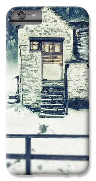 House Near The Wood IPhone 6 Plus Case by Silvia Ganora