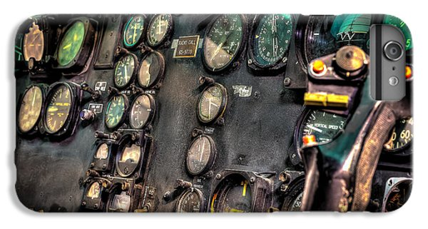 Helicopter iPhone 6 Plus Case - Huey Instrument Panel by David Morefield