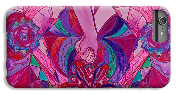 Swan iPhone 6 Plus Case - Human Intimacy by Teal Swan