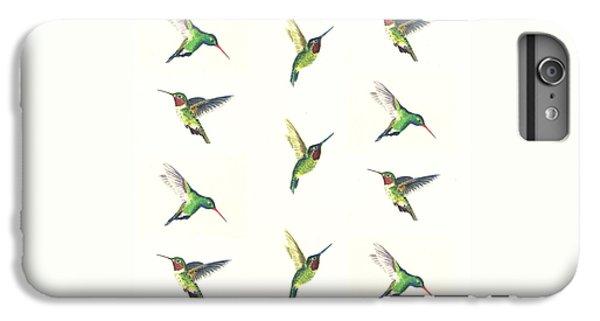 Hummingbirds Number 2 IPhone 6 Plus Case by Michael Vigliotti