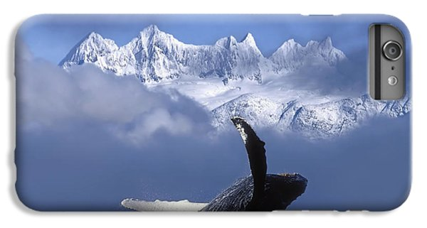 Humpback Whale Breaches In Clearing Fog IPhone 6 Plus Case by John Hyde
