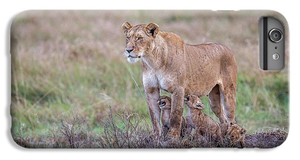 Lion iPhone 6 Plus Case - Hungry.... by Jeffrey C. Sink