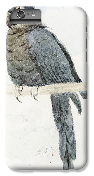Macaw iPhone 6 Plus Case - Hyancinth Macaw by Henry Stacey Marks