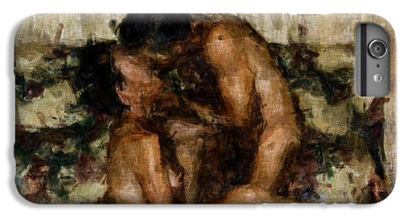 Nudes iPhone 6 Plus Case - I Adore You by Kurt Van Wagner