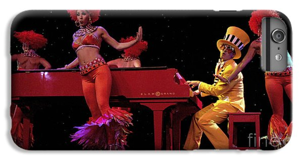 Elton John iPhone 6 Plus Case - I Love Rock And Roll Music by Bob Christopher