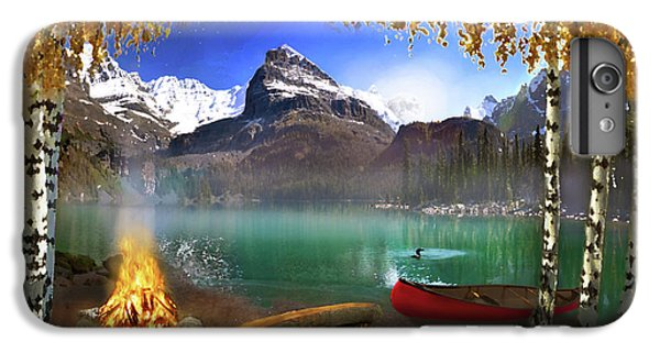 I Stillness I Heal IPhone 6 Plus Case by David M ( Maclean )