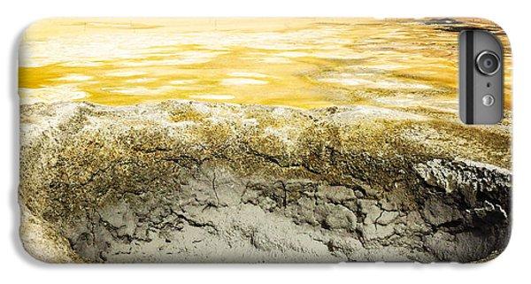 Orange iPhone 6 Plus Case - Iceland Geothermal Area Hverir Namaskard by Matthias Hauser