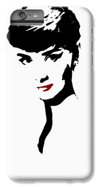 Audrey Hepburn iPhone 6 Plus Case - Icon Of Beauty by Steve K