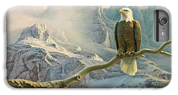 Eagle iPhone 6 Plus Case - In The High Country-eagle by Paul Krapf