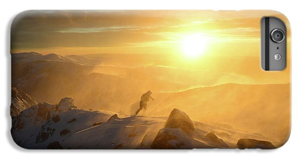 Mountain Sunset iPhone 6 Plus Case - In The Storm by Radoslav Stoilov