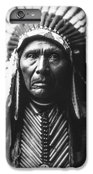 Portraits iPhone 6 Plus Case - Indian Of North America Circa 1905 by Aged Pixel