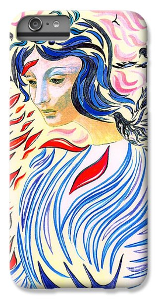 Dove iPhone 6 Plus Case - Inner Peace by Jane Small