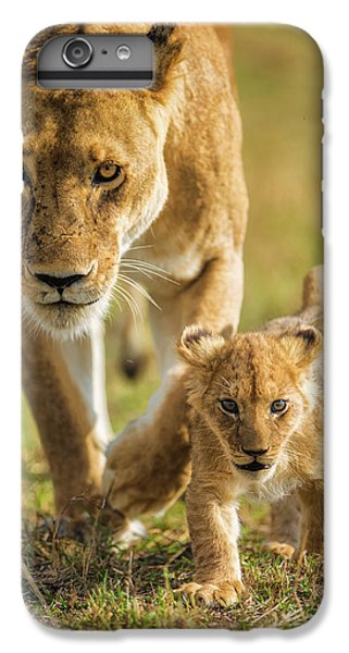 Lion iPhone 6 Plus Case - Into The Future by Mohammed Alnaser