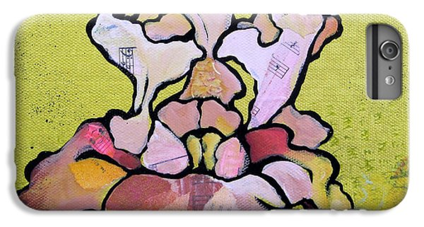 Irises iPhone 6 Plus Case - Iris Iv by Shadia Derbyshire