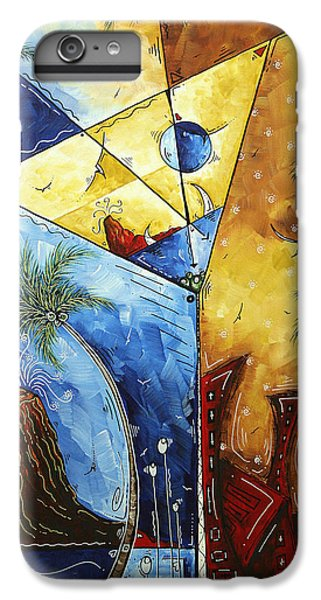 Island Martini  Original Madart Painting IPhone 6 Plus Case