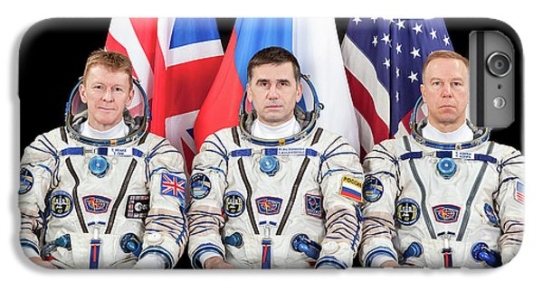 Astronauts iPhone 6 Plus Case - Iss Expedition 46 Crew by Nasa