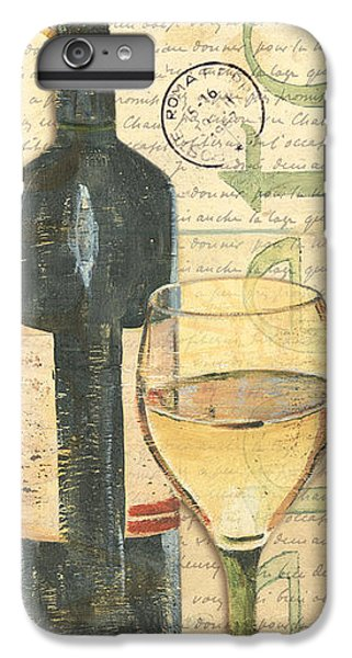 Italian Wine And Grapes 1 IPhone 6 Plus Case by Debbie DeWitt