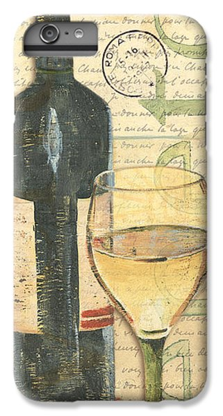Wine iPhone 6 Plus Case - Italian Wine And Grapes 1 by Debbie DeWitt