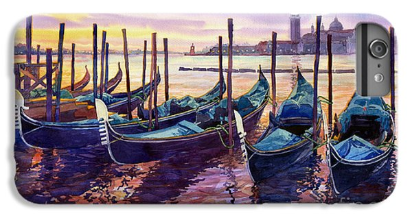 Boat iPhone 6 Plus Case - Italy Venice Early Mornings by Yuriy Shevchuk