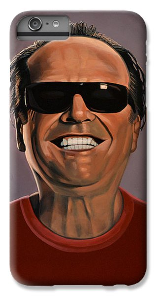 Jack Nicholson iPhone 6 Plus Case - Jack Nicholson 2 by Paul Meijering