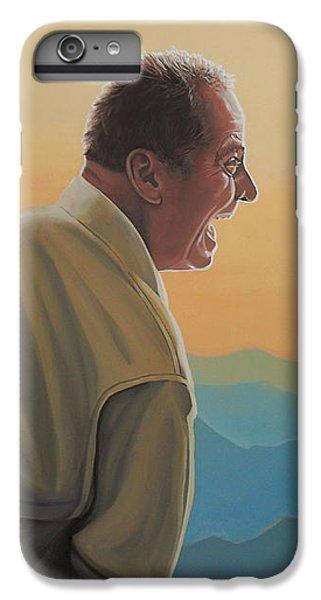Jack Nicholson iPhone 6 Plus Case - Jack Nicholson And Morgan Freeman by Paul Meijering