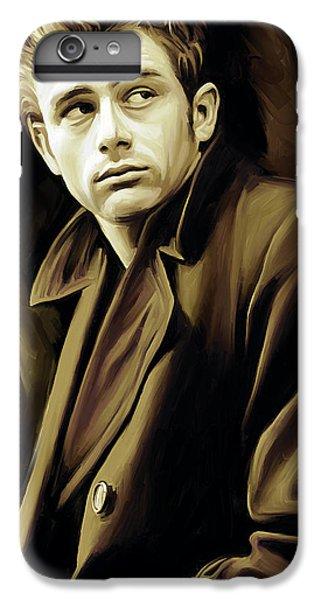 Celebrities iPhone 6 Plus Case - James Dean Artwork by Sheraz A
