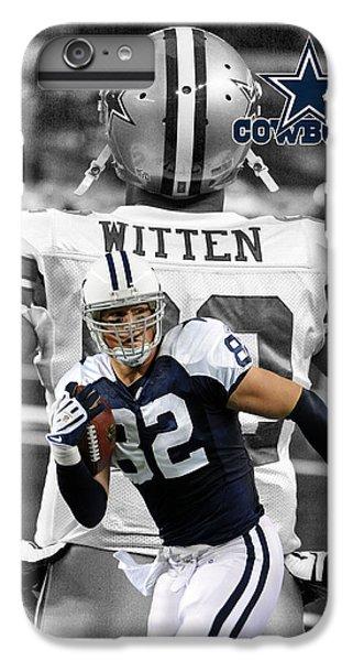 Jason Witten Cowboys IPhone 6 Plus Case by Joe Hamilton
