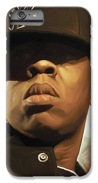 Jay-z Artwork IPhone 6 Plus Case by Sheraz A