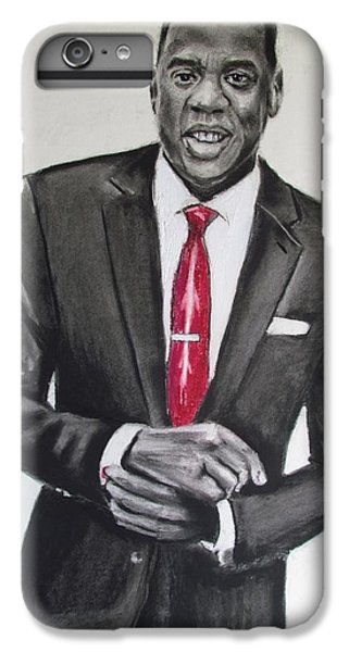 Jay Z IPhone 6 Plus Case by Eric Dee