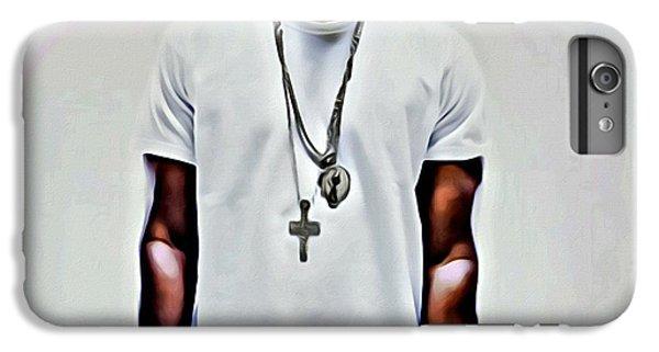 Jay-z Portrait IPhone 6 Plus Case by Florian Rodarte