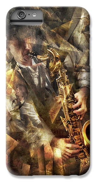 Saxophone iPhone 6 Plus Case - Jazz by Christophe Kiciak