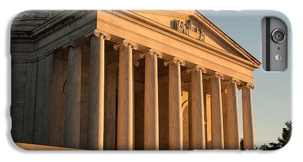Jefferson Memorial Sunset IPhone 6 Plus Case by Steve Gadomski