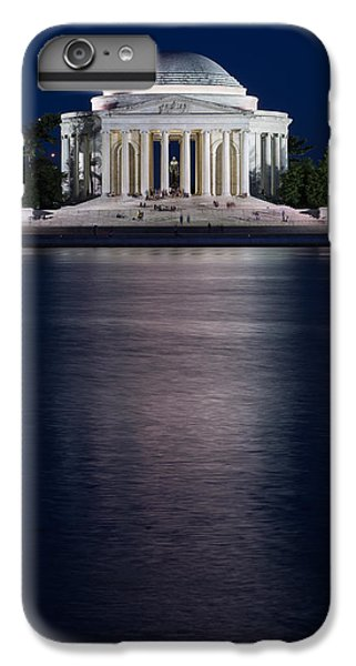 Jefferson Memorial iPhone 6 Plus Case - Jefferson Memorial Washington D C by Steve Gadomski