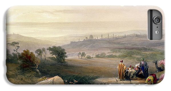 Jerusalem, April 1839 IPhone 6 Plus Case by David Roberts