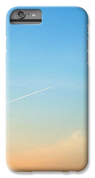 IPhone 6 Plus Case featuring the photograph Jet To Sky by Marc Philippe Joly