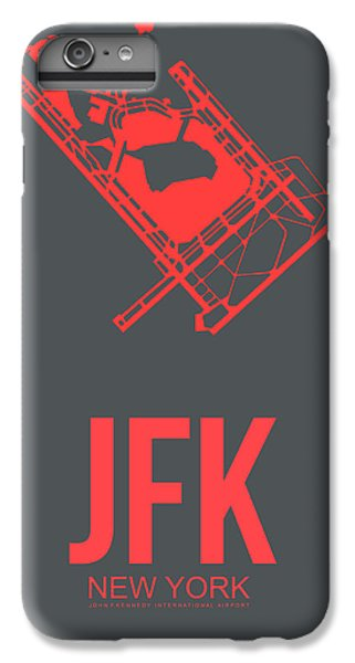 Times Square iPhone 6 Plus Case - Jfk Airport Poster 2 by Naxart Studio