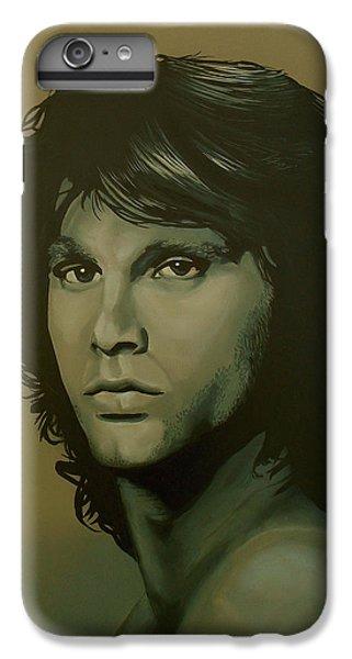 Raven iPhone 6 Plus Case - Jim Morrison Painting by Paul Meijering