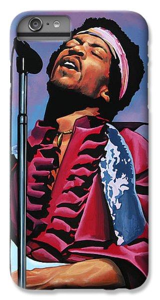 Knight iPhone 6 Plus Case - Jimi Hendrix 2 by Paul Meijering