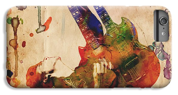 Jimmy Page - Led Zeppelin IPhone 6 Plus Case