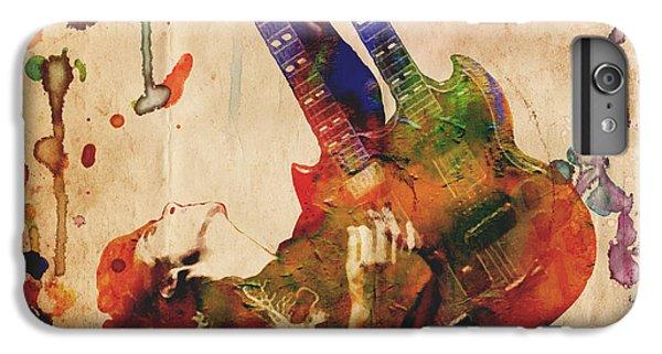 Jimmy Page - Led Zeppelin IPhone 6 Plus Case by Ryan Rock Artist